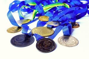fitness marketing medals